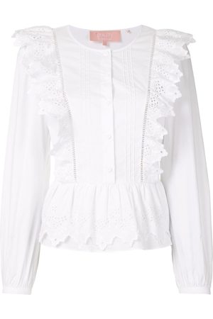 BAPY Embroidered buttoned blouse