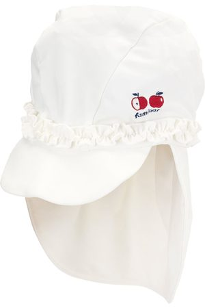Familiar Menino Chapéus - Ruffle trim cap