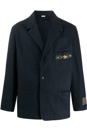 Gucci Homem Blazers - Cardboard-label oversized blazer