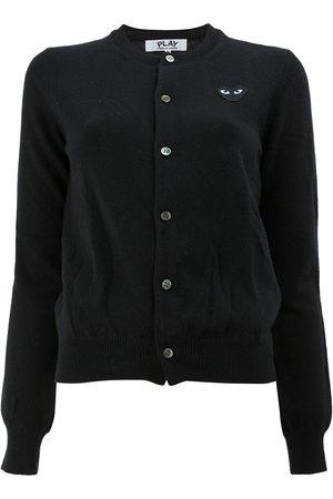 Comme des Garçons Button front cropped cardigan