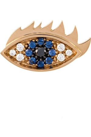 DELFINA DELETTREZ Eyes on me' diamond and sapphire earring
