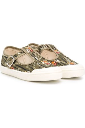 PèPè Tiger print sandals
