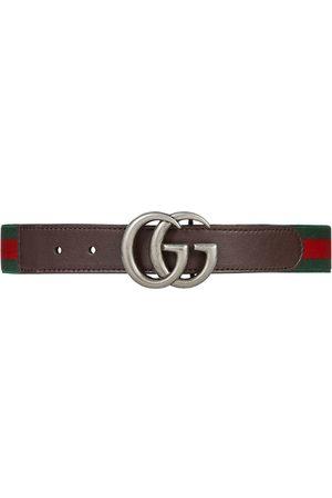 Gucci Kids Elasticated GG Web belt