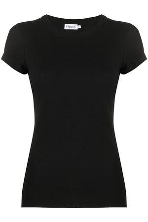 Filippa K Ribbed short-sleeve T-shirt