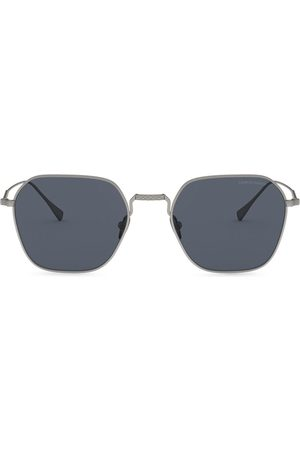 Giorgio Armani Square-frame tinted sunglasses