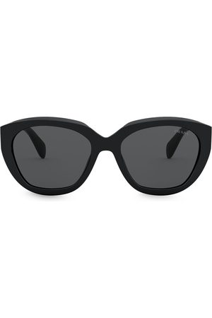 Prada Round-frame tinted sunglasses