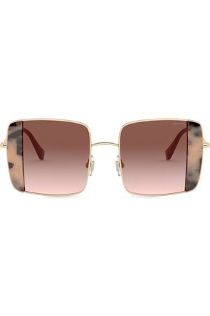 Miu Miu Noir square-frame sunglasses