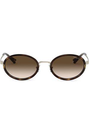 vogue Millie Bobby Capsule round-frame sunglasses