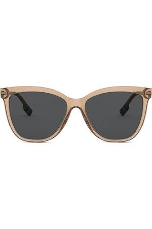 Burberry Eyewear Oversized cat-eye frame sunglasses