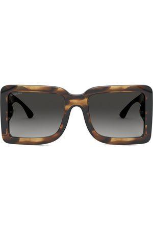 Burberry Eyewear Oversized square-frame sunglasses