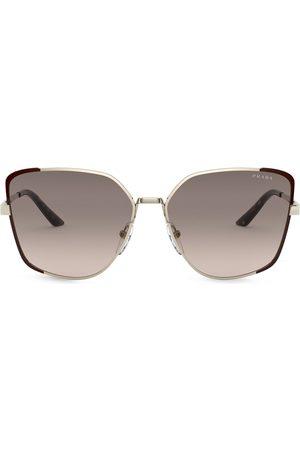 Prada Oversized-frame gradient sunglasses