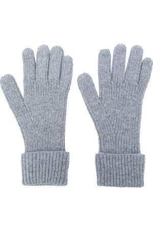 N.PEAL Homem Luvas - Ribbed gloves