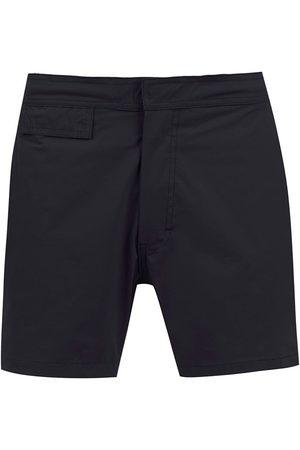 AMIR SLAMA Mid rise swim shorts