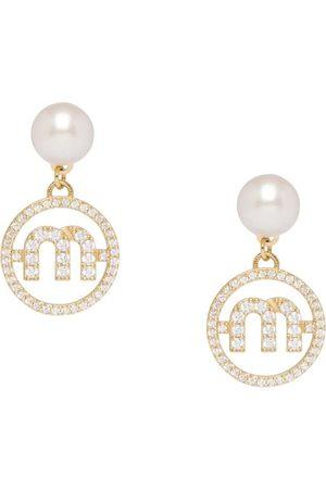 Miu Miu Miu Pearl earrings