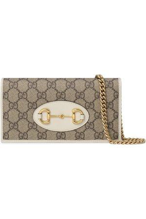 Gucci 1955 Horsebit chain-strap wallet