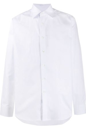 CANALI Buttoned cotton shirt
