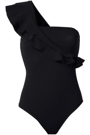 CLUBE BOSSA Senhora Bodies - Ruffled one-shoulder bodysuit