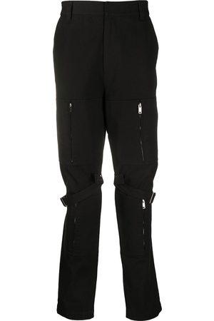 AMBUSH Calças Cargo - Zipped detail cargo trousers