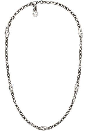 Gucci Homem Colares - GG sterling necklace