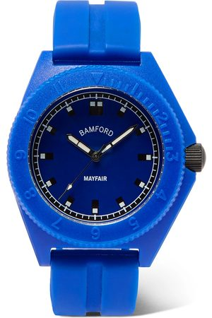 Bamford Watch Department Homem Relógios - Mayfair Sport Polymer And Rubber Watch