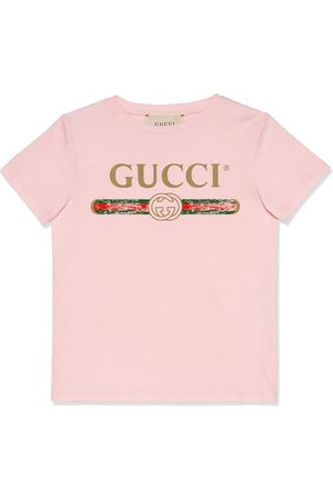 Gucci Logo print short-sleeve T-shirt