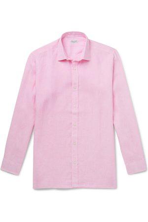 Charvet Homem Formal - Linen Shirt
