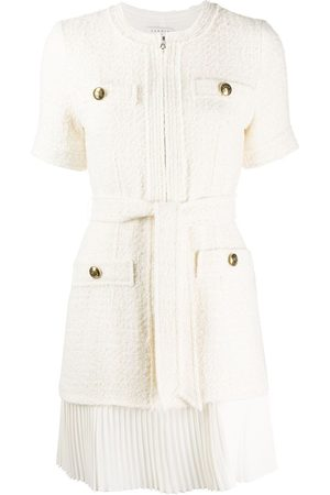 Sandro Tweed coat mini dress