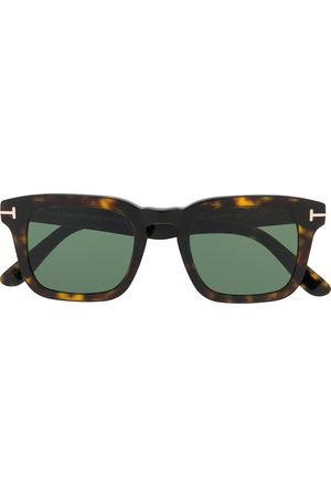 TOM FORD Eyewear Tortoiseshell square-frame sunglasses