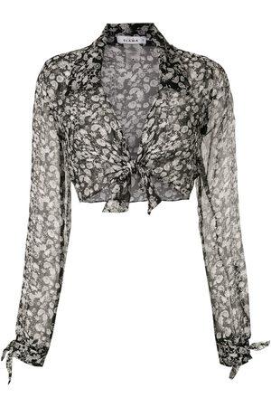 AMIR SLAMA Silk Margarida shirt