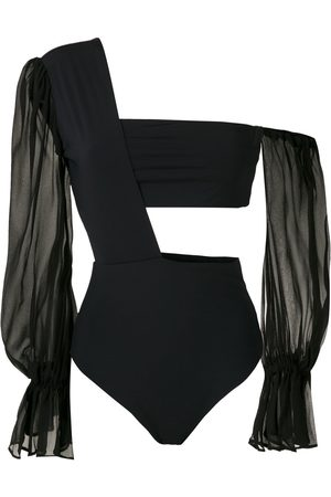 AMIR SLAMA One shoulder bodysuit