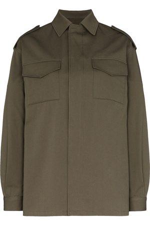 Valentino Senhora Casual - VLOGO stitched shirt jacket