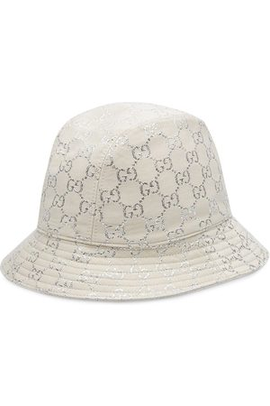 Gucci Metallic logo-jacquard bucket hat
