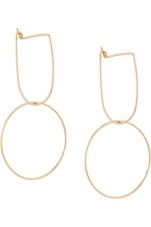 Petite Grand Senhora Brincos - Modernist Hoop earrings