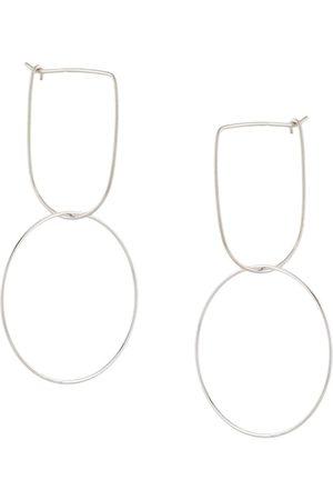 Petite Grand Modernist Hoop earrings