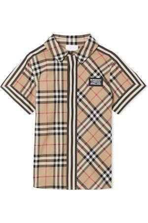 Burberry Vintage Check short-sleeved shirt