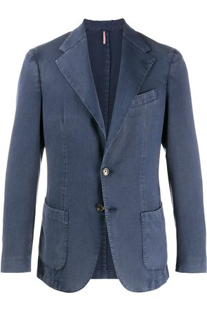 DELL'OGLIO Single-breasted notch lapels blazer