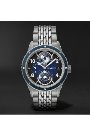 Mont Blanc 1858 Geosphere Automatic 42mm Titanium and Stainless Steel Watch, Ref. No. 125567