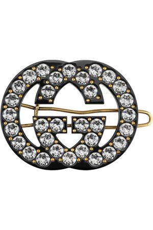 Gucci Double G embellished hair clip