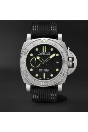 PANERAI Homem Relógios - Submersible Mike Horn Edition Automatic 47mm Eco-Titanium and PET Watch