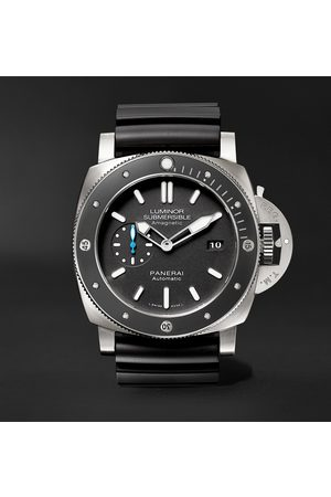 PANERAI Homem Relógios - Luminor Submersible 1950 Amagnetic 3 Days Automatic 47mm Titanium and Rubber Watch, Ref. No. PAM01389
