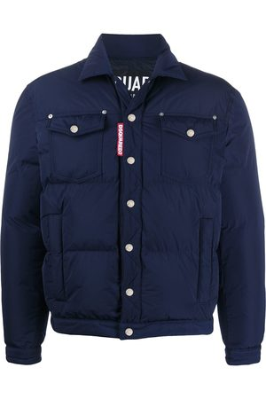 Dsquared2 Padded trucker jacket