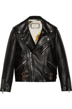 Gucci Plongé leather biker jacket
