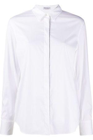 Brunello Cucinelli Monili-embellished shirt