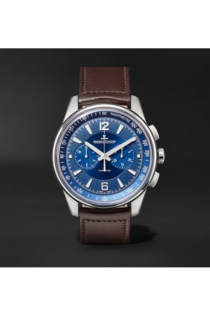 Jaeger-LeCoultre Homem Relógios - Polaris Automatic Chronograph 42mm Stainless Steel and Leather Watch, Ref. No. 9028480