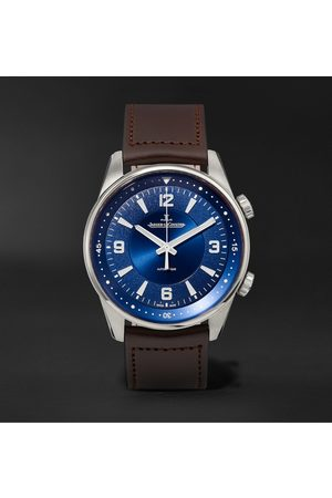 Jaeger-LeCoultre Homem Relógios - Polaris Automatic Stainless Steel and Leather Watch, Ref. No. Q3848422