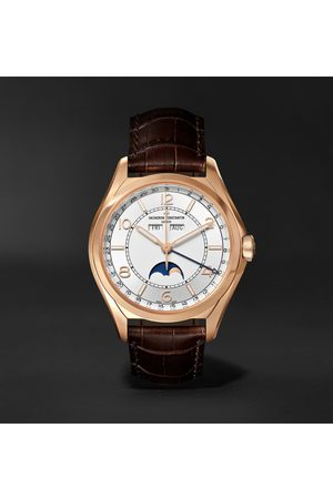 Vacheron Constantin Homem Relógios - Fiftysix Automatic Complete Calendar 40mm 18-Karat Pink Gold and Alligator Watch, Ref. No. 4000E/000R-B438