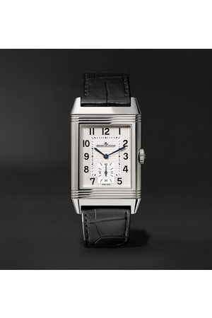 Jaeger-LeCoultre Homem Relógios - Reverso Classic Large Hand-Wound 27.4mm Stainless Steel and Alligator Watch