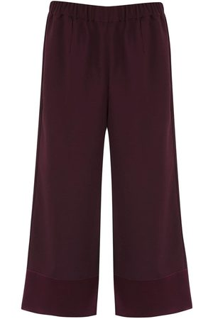 Olympiah Tyrian culottes