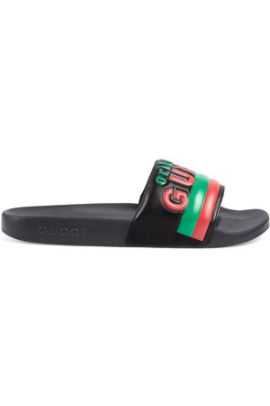 Gucci Original embossed slides