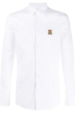 Moschino Teddy bear-patch shirt